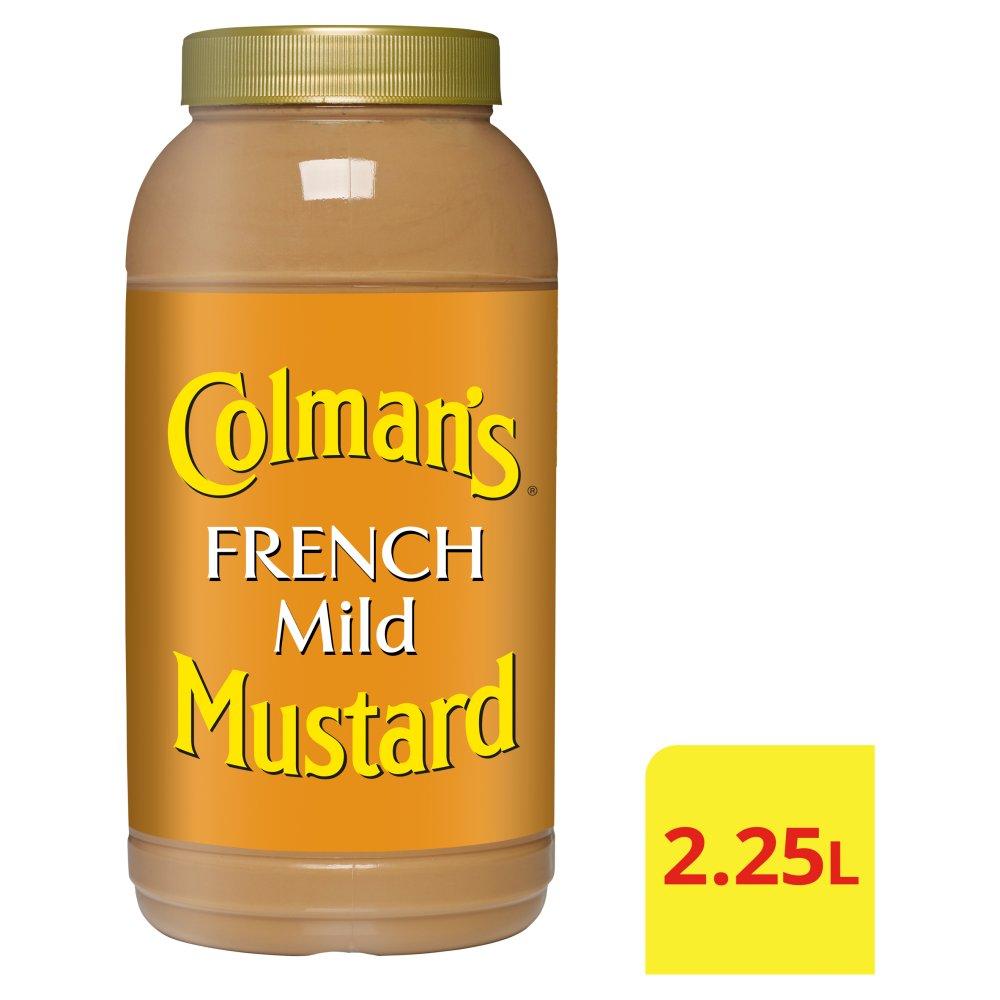 Colman's French Mild Mustard 2.25L