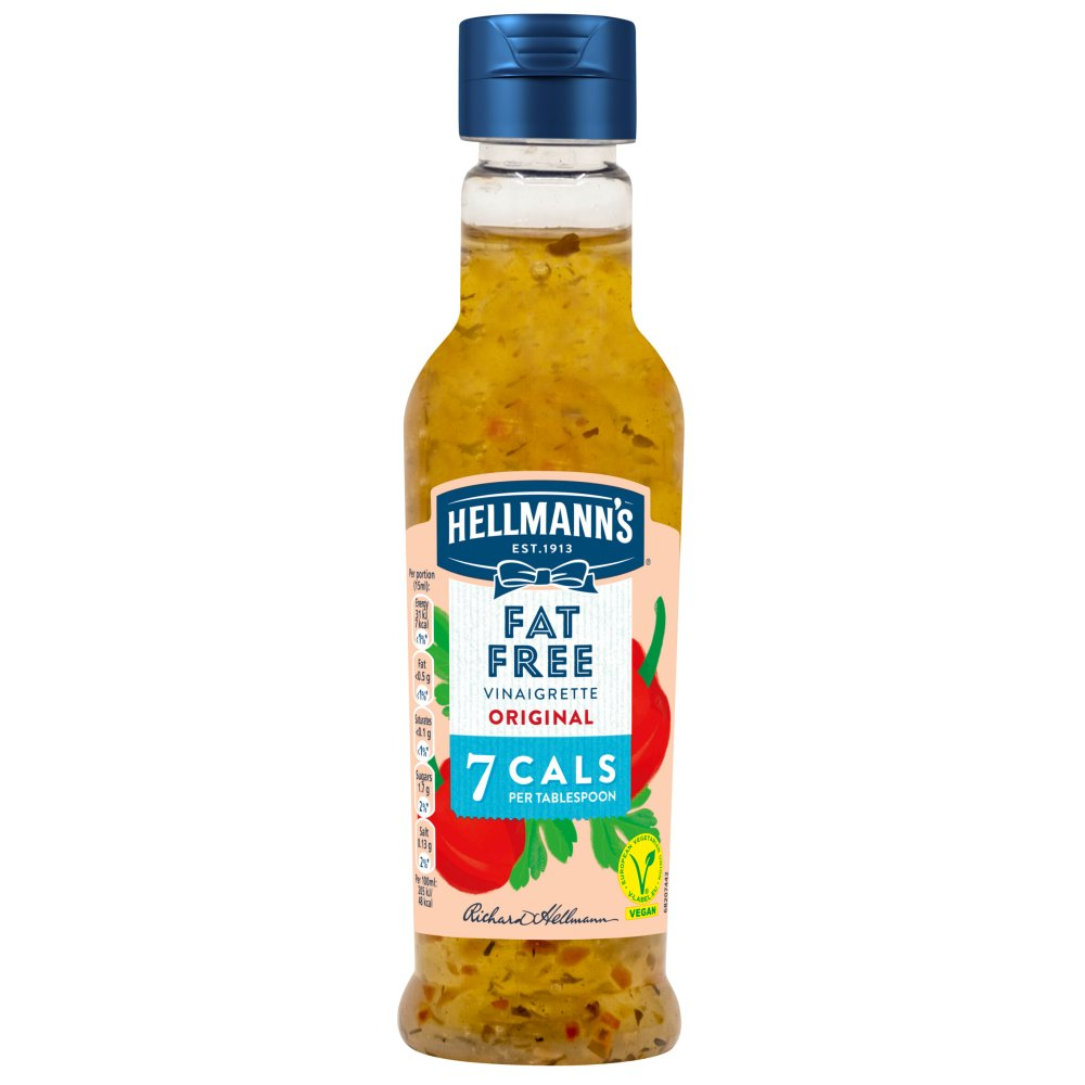 Hellmann's Fat Free Salad Dressing 210ml