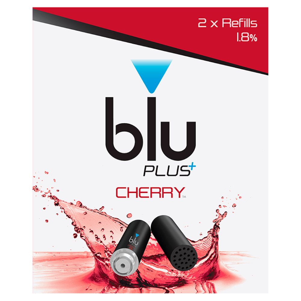 Blu Plus Refill Cherry 1.8%