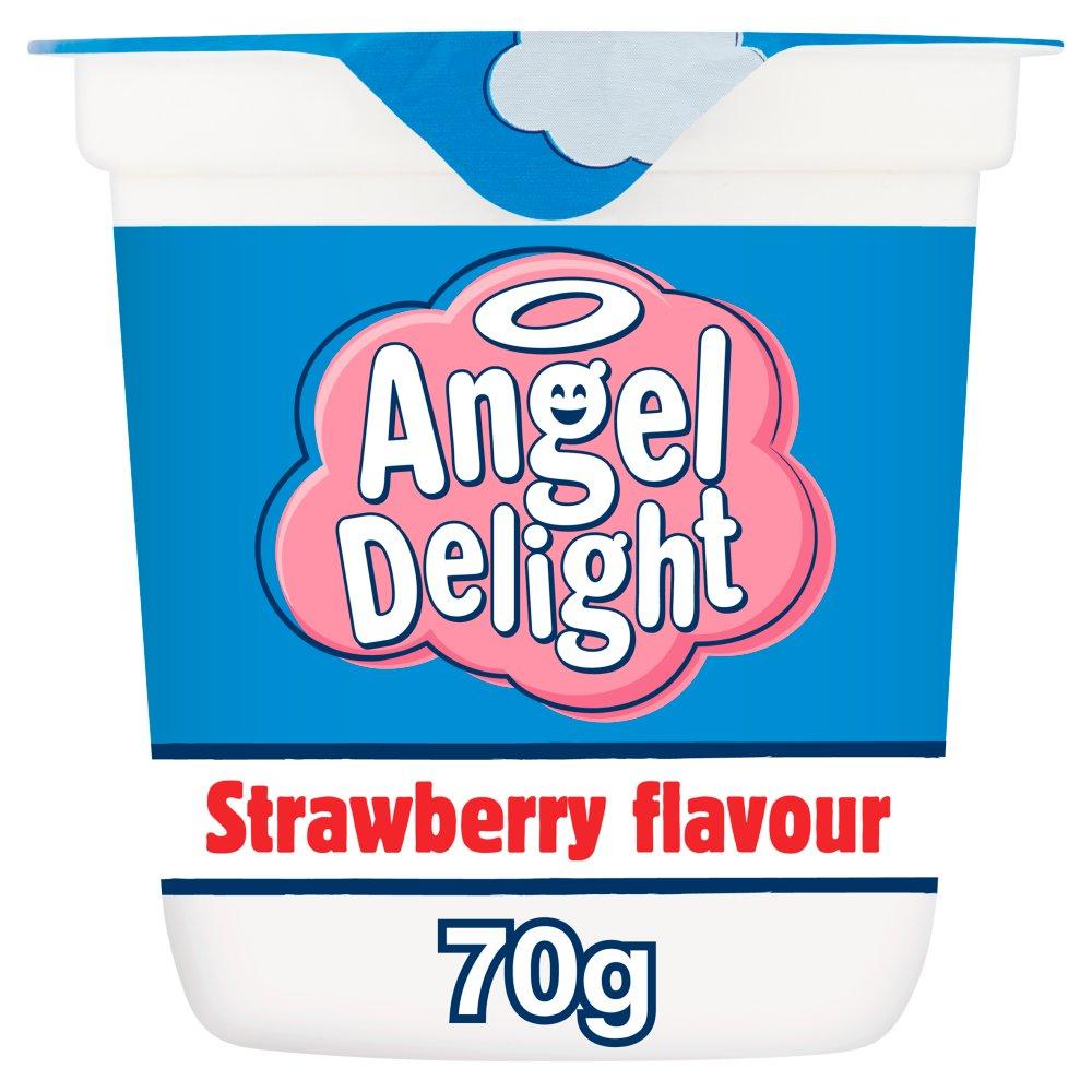 Angel Delight Strawberry Flavour Dessert Pot 70g