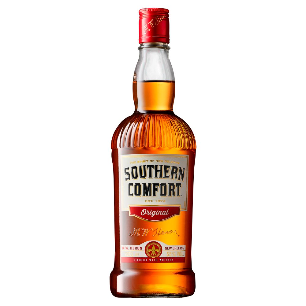 Southern Comfort Original Liqueur with Whiskey Price Marked (£18.99) 70cl
