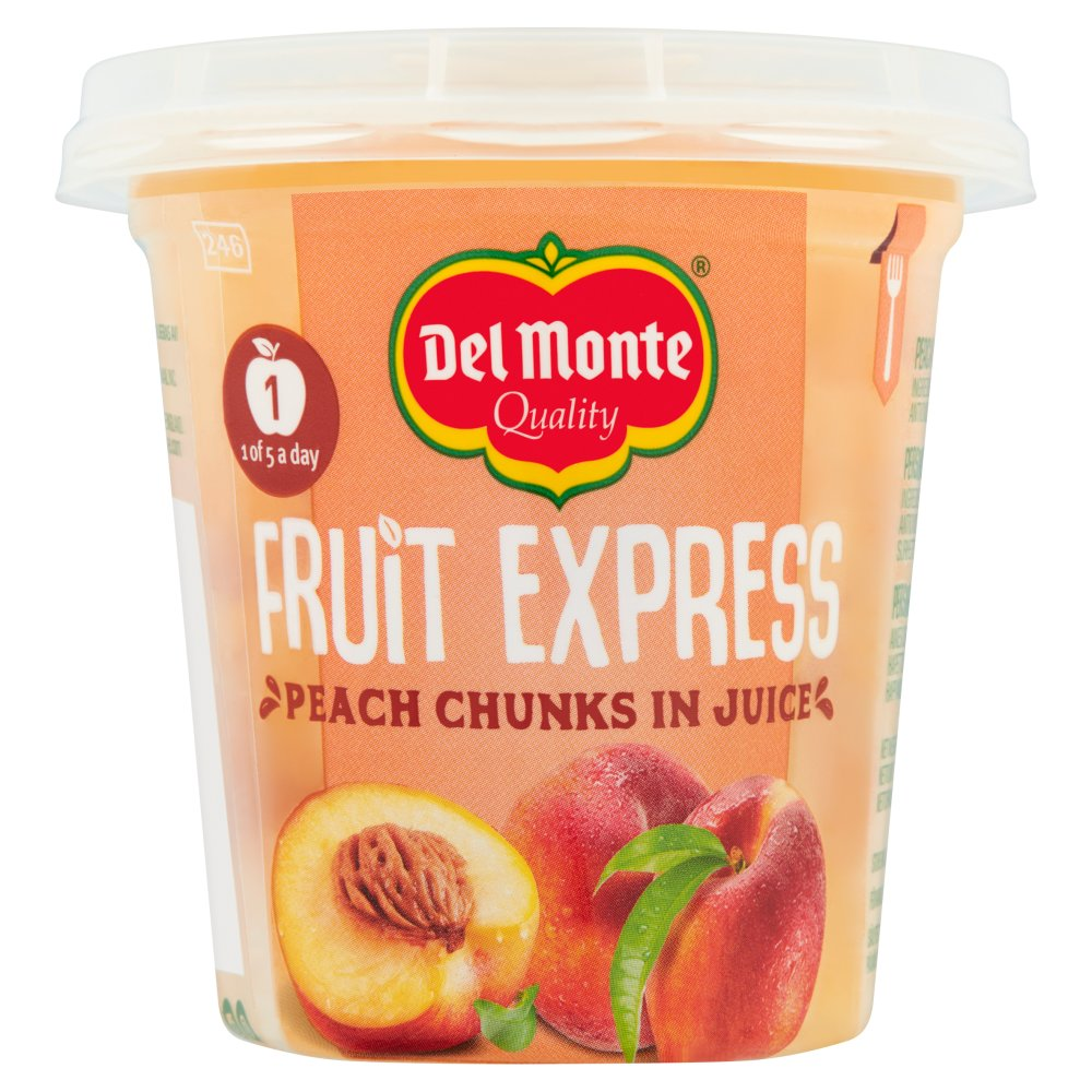Del Monte Fruit Express Peach Chunks in Juice 227g