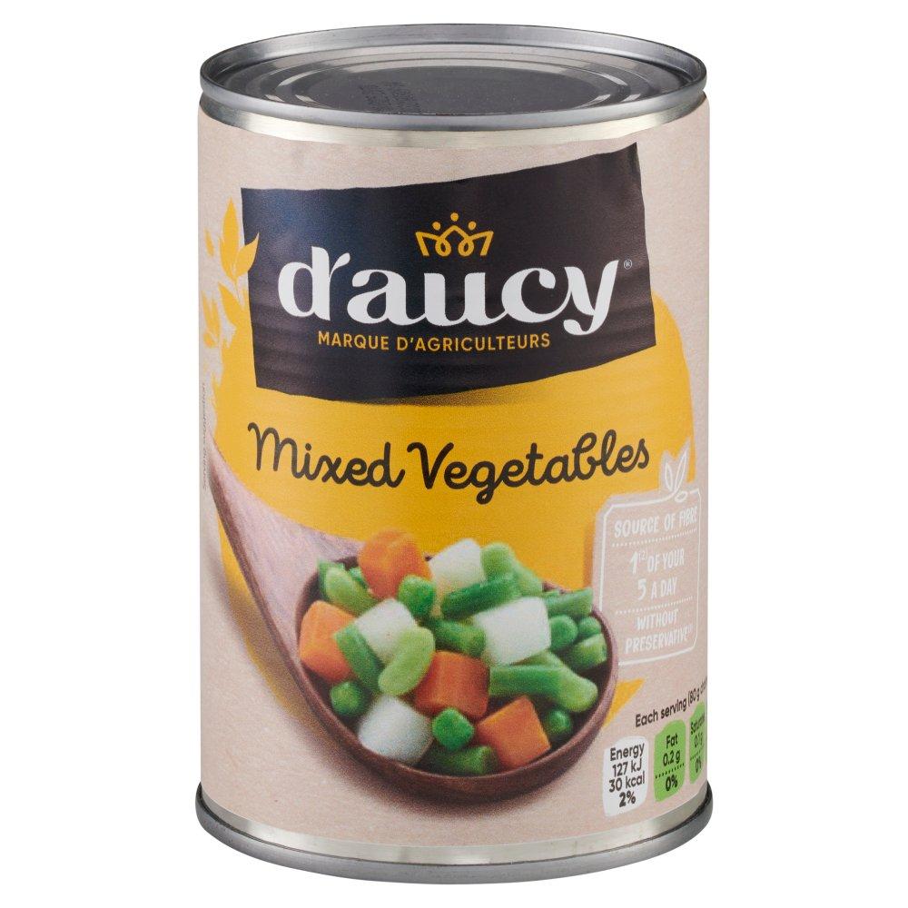 D'Aucy Mixed Vegetables 400g