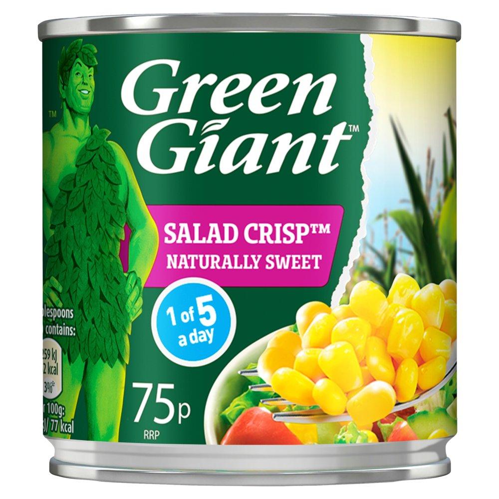 Green Giant Salad Crisp Sweetcorn 160g