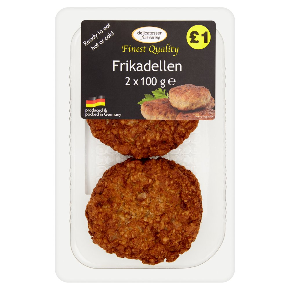 Delicatessan Fine Eating Frikadellen PM £1
