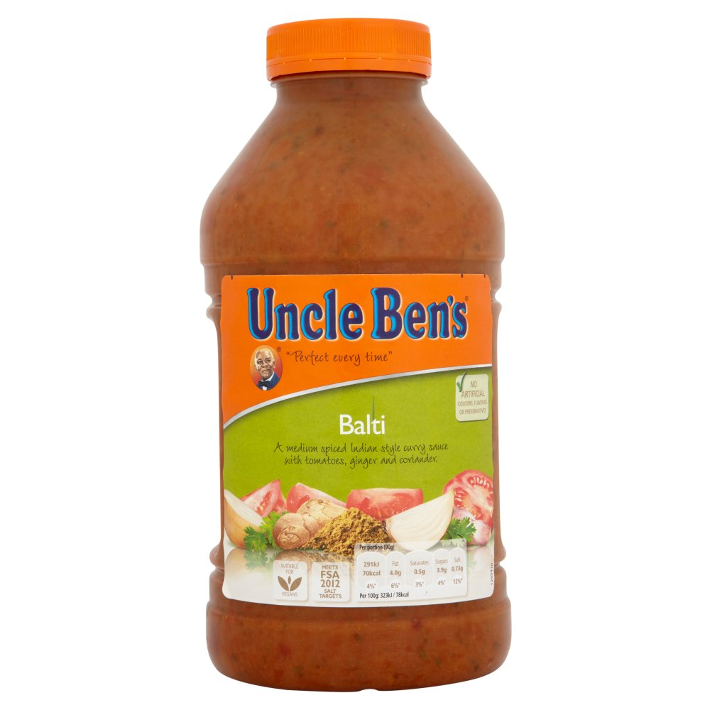 Uncle Bens Balti Sauce