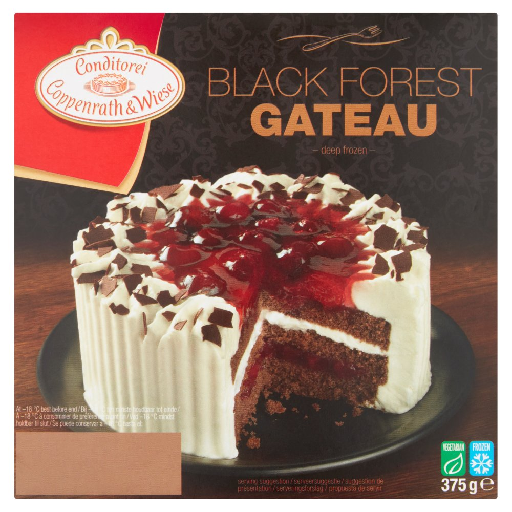Conditorei Coppenrath & Wiese Black Forest Gateau 375g