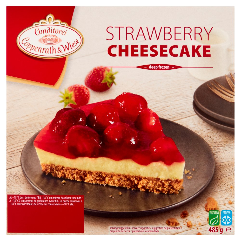 C & W Strawberry Cheesecak