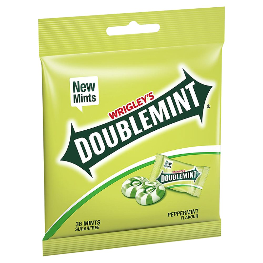 Wrigleys Doublemint Mint Bag