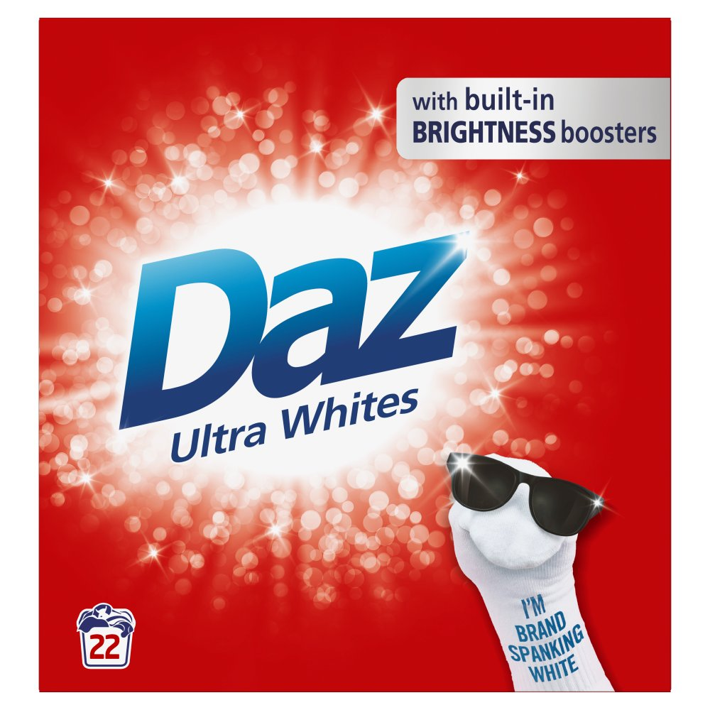 Daz Washing Powder Ultra Whites 1.43Kg 22 Washes
