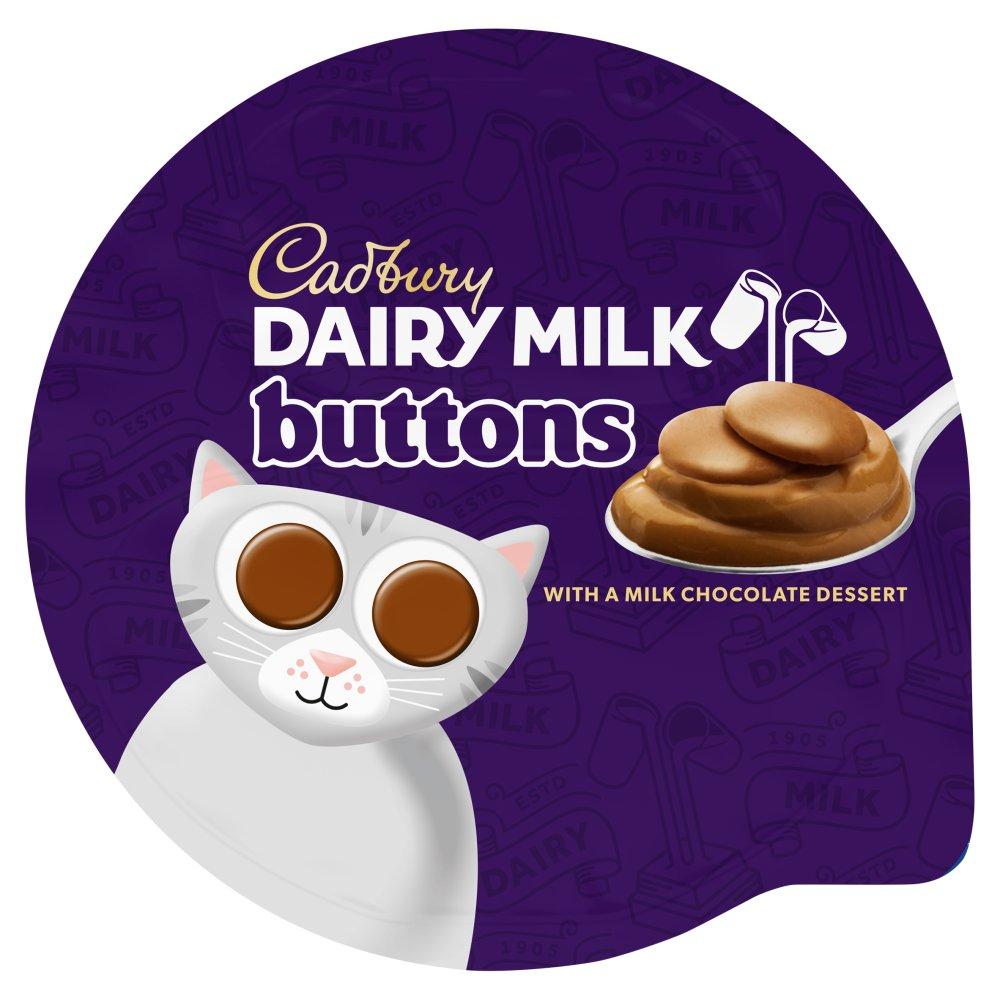 Cadbury Dairy Milk Buttons Chocolate Dessert 85g