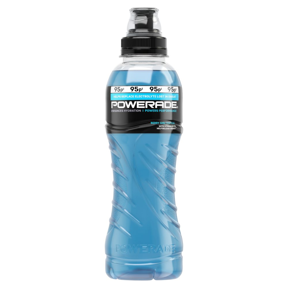 Powerade Berry Tropical 500ml PMP 95p
