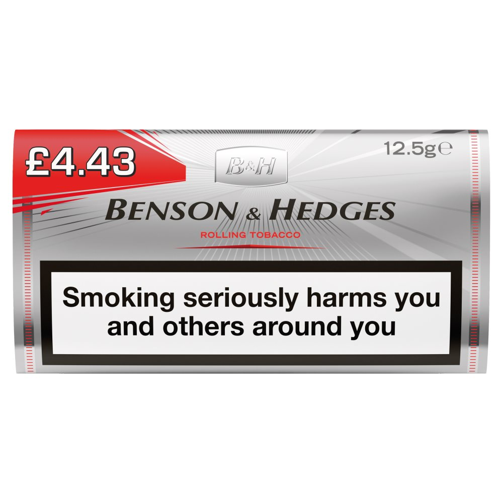 Benson+Hedges Silver Roll Your Own Ho £8.40