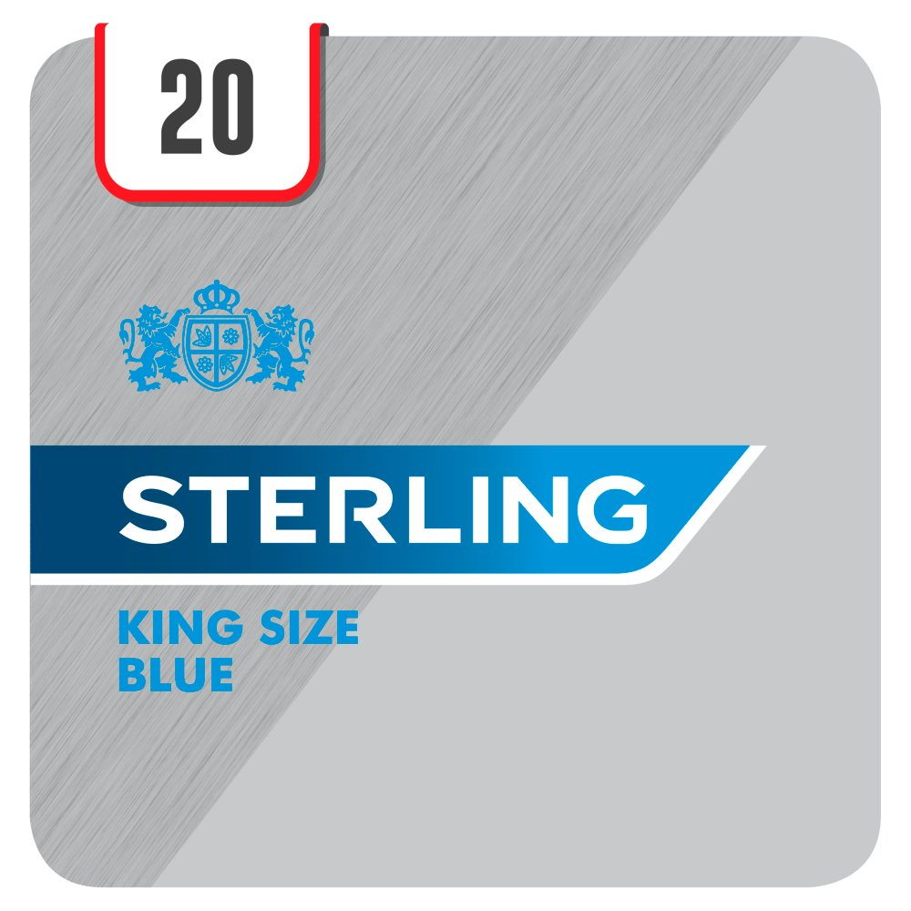 Sterling Blue 20 Cigarettes Track & Trace Compliant
