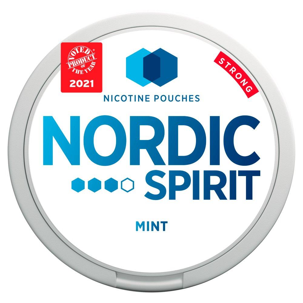 Nordic Spirit Nicotine Pouches Mint 9mg