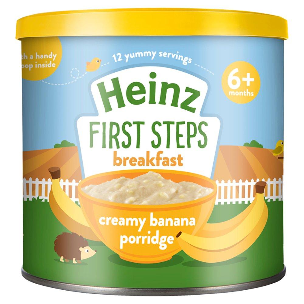 Heinz 4+ Months First Steps Creamy Banana Porridge 240g