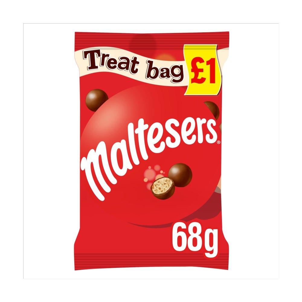 Maltesers Chocolate £1 PMP Treat Bag 68g