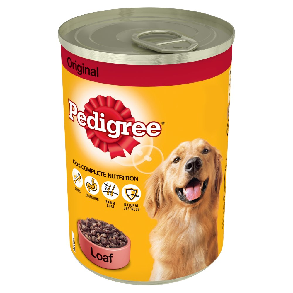 PEDIGREE Dog Tin Original in Loaf 400g