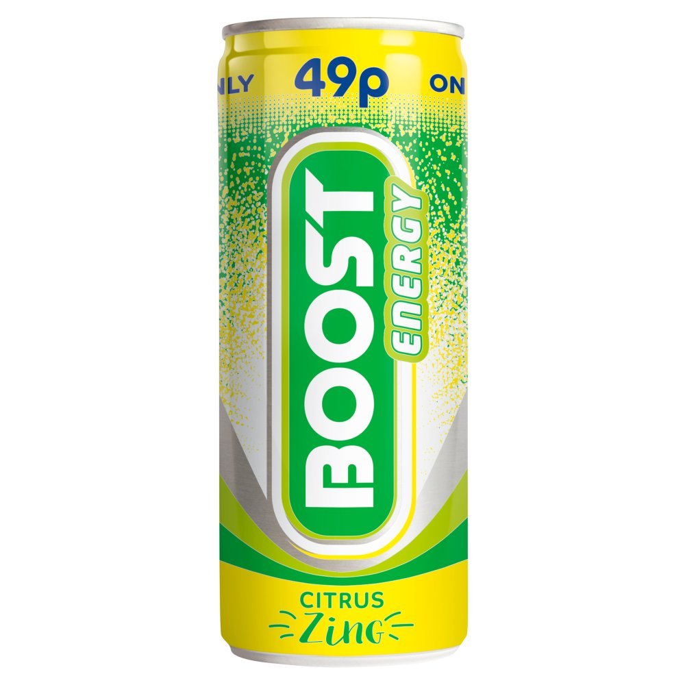 Boost Energy Citrus Zing PM 49p