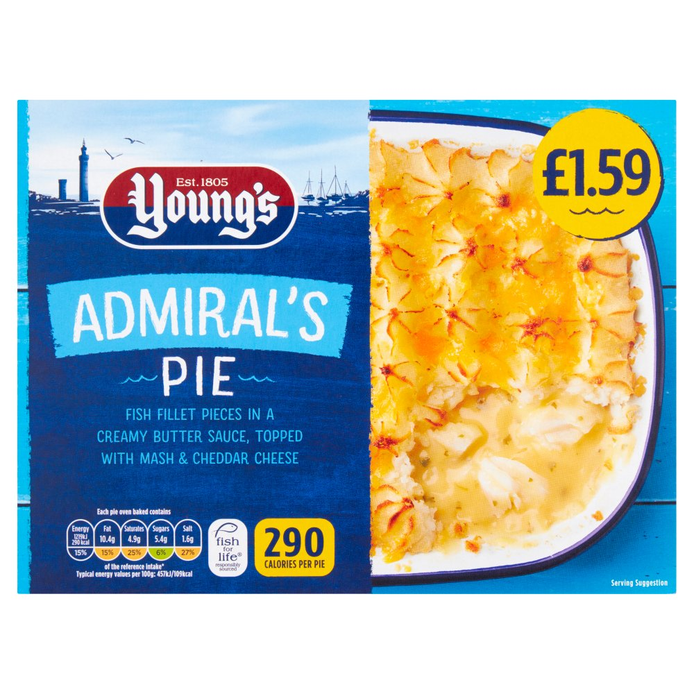 Young's Admiral's Pie 300g