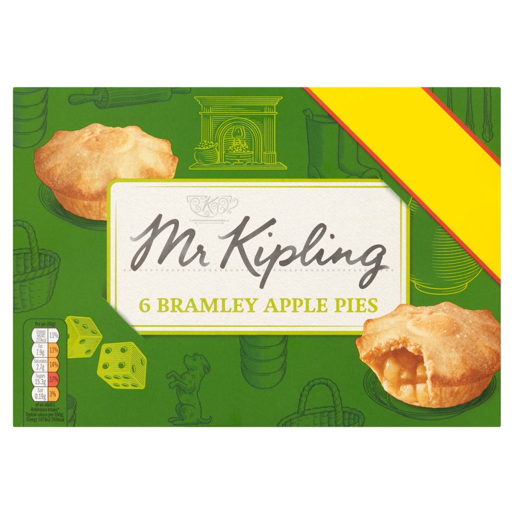 Mr Kipling Apple Pies £1.69