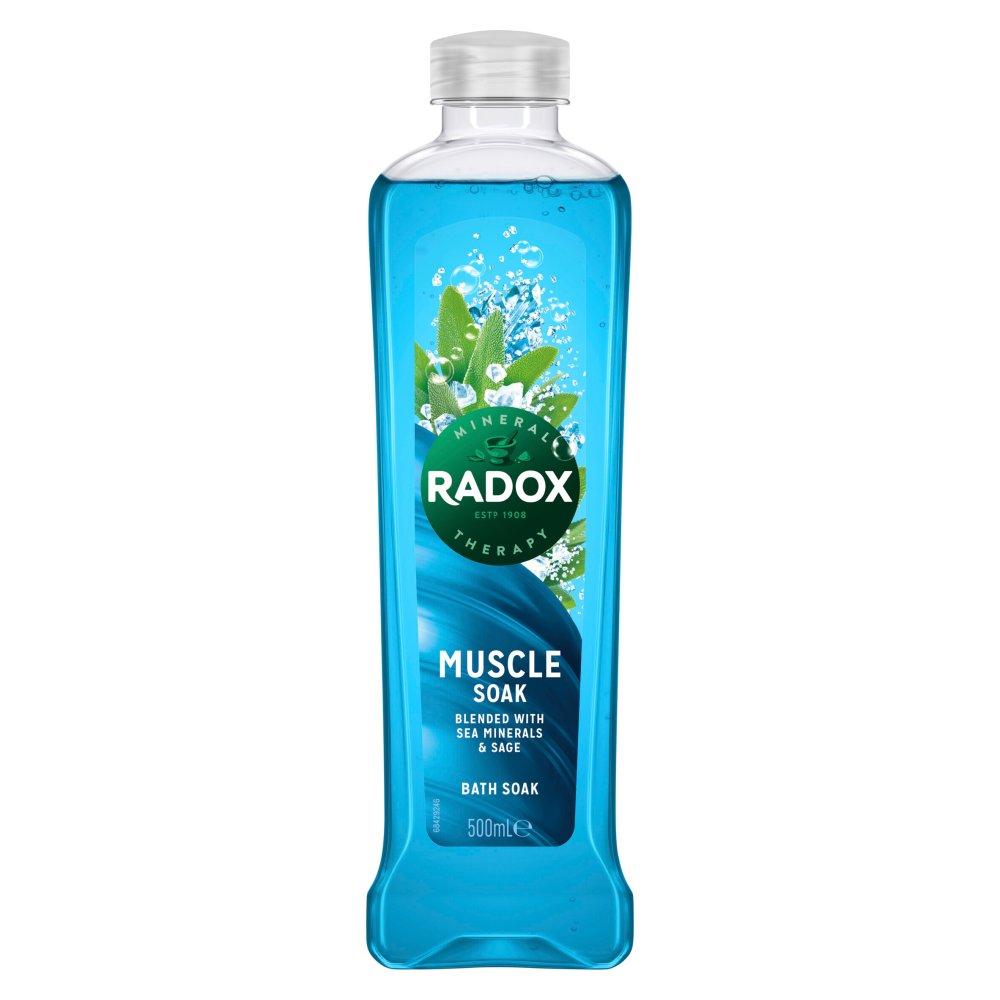 Radox Muscle Soak Bath Soak 500 ml