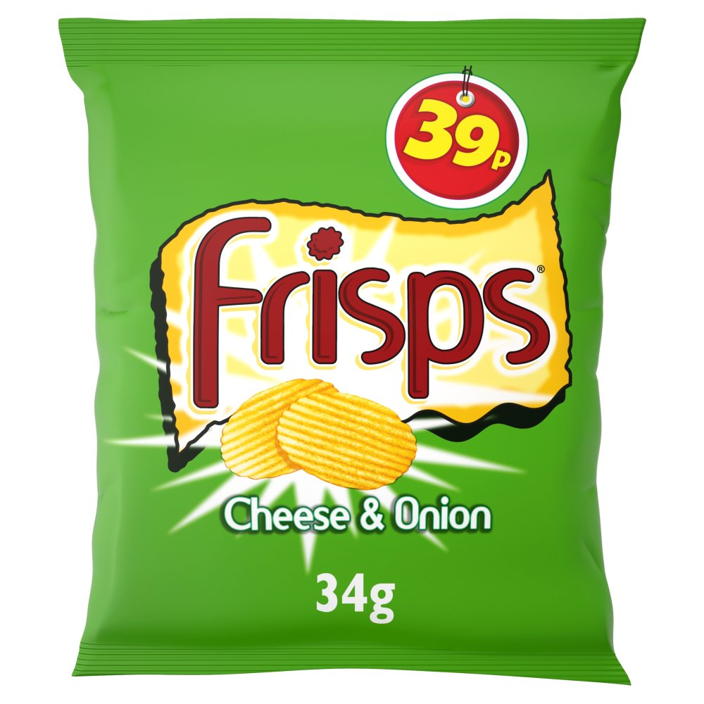 Frisps Cheese & Onion PM 39p