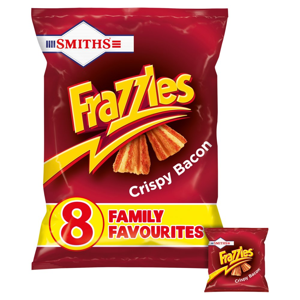 Smiths Frazzles Bacon