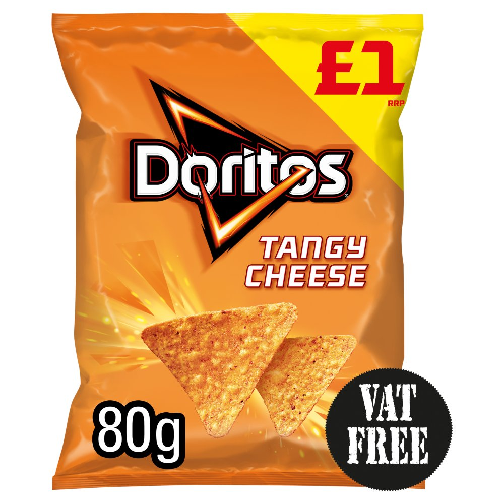 Doritos Tangy Cheese Tortilla Chips £1 PMP 80g