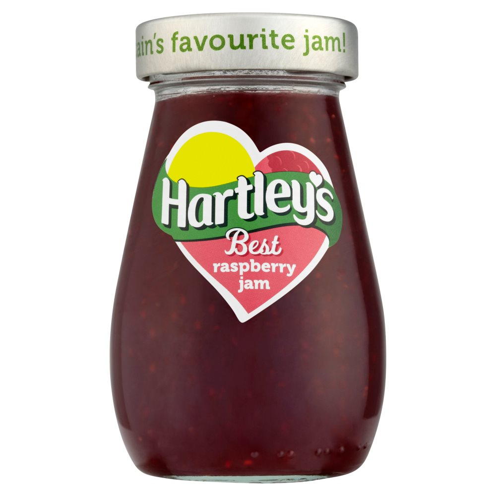 Hartleys Best Raspberry Jam PM £1.49