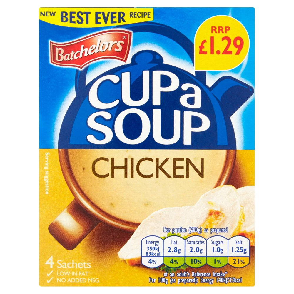 Batchelor Cup A Soup Chicken PM £1.29