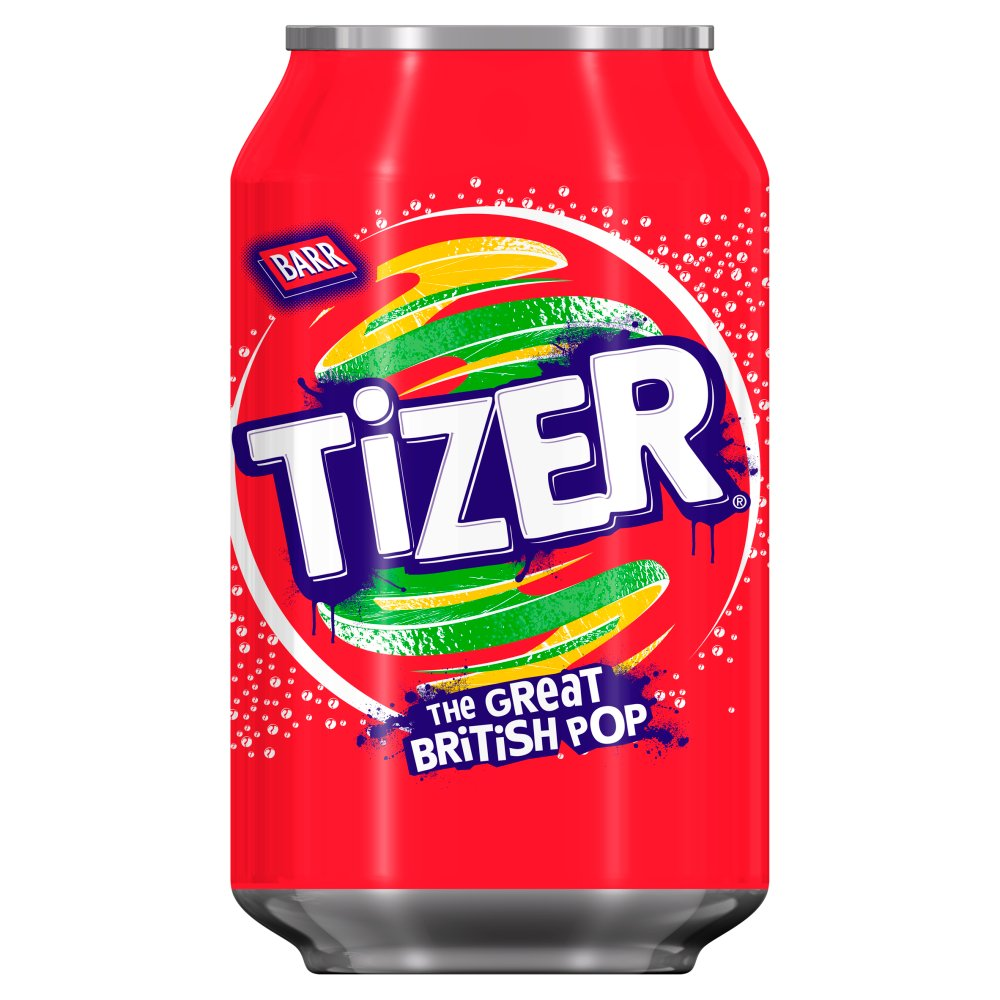 Tizer 330ml Cans PMP 49p
