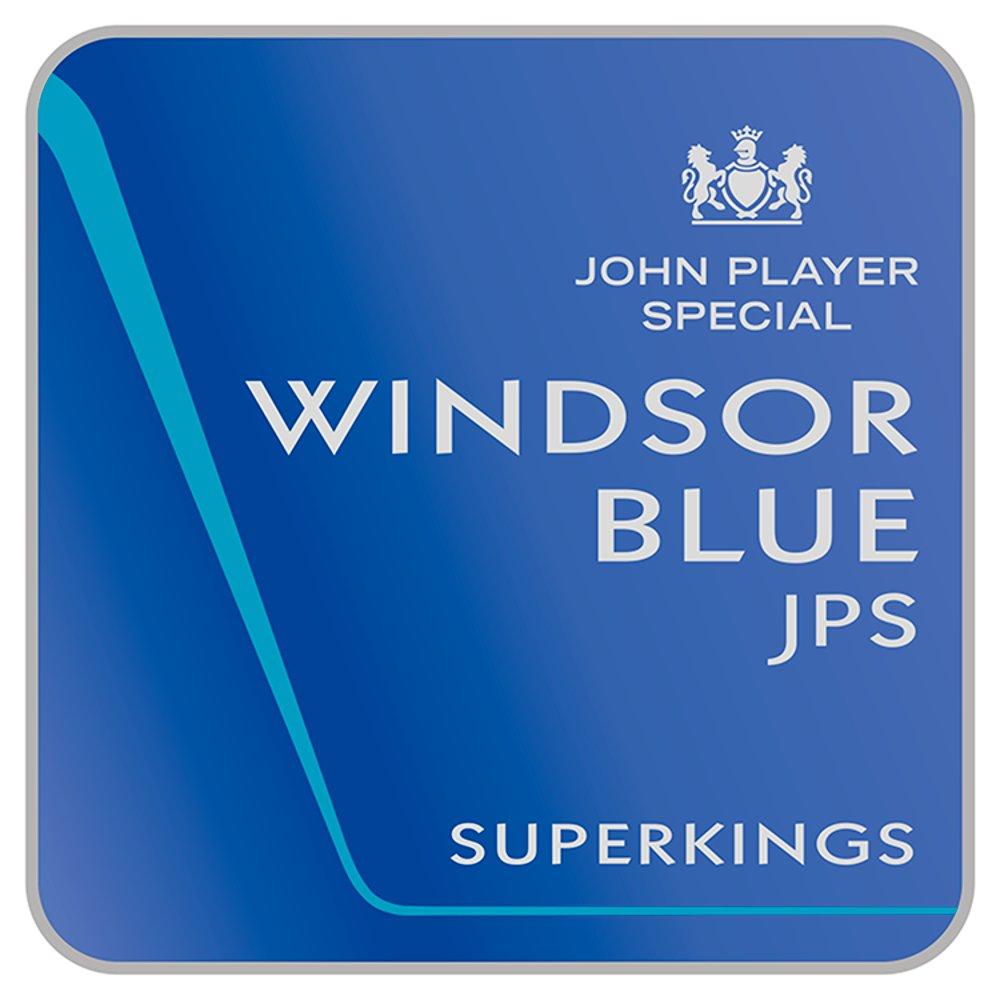 Windsor Blue JPS Superkings Real Blue 20
