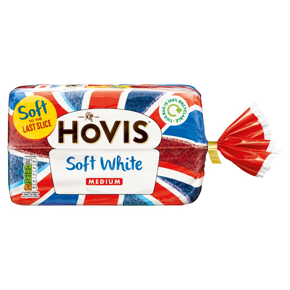 Hovis Soft White Medium 800g