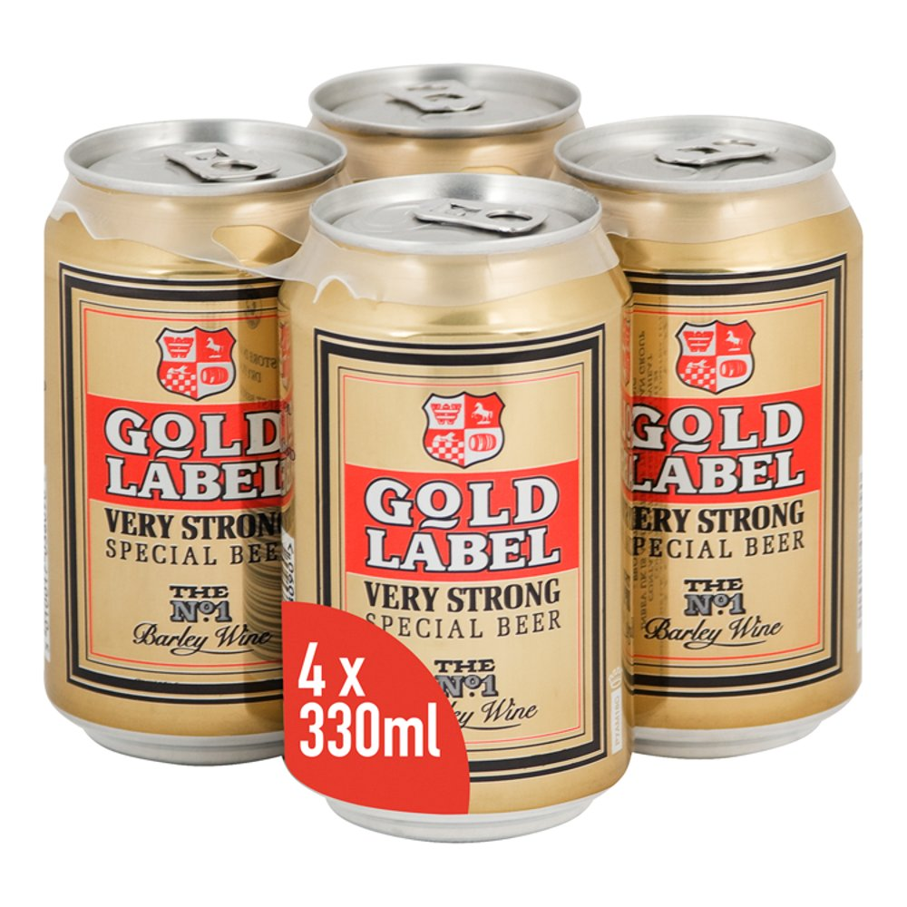 Gold Label Can 7.5 Abv