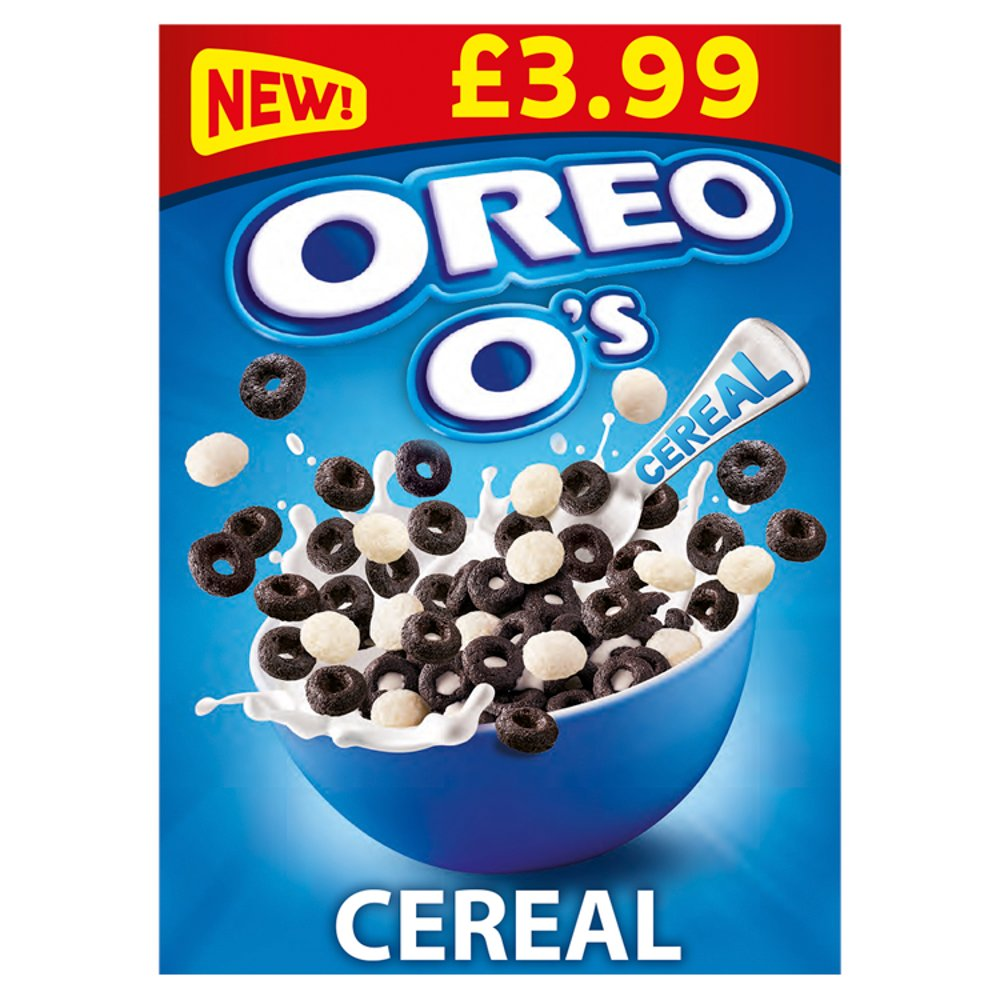 Oreo O's Cereal 5 x 320g PMP £3.99