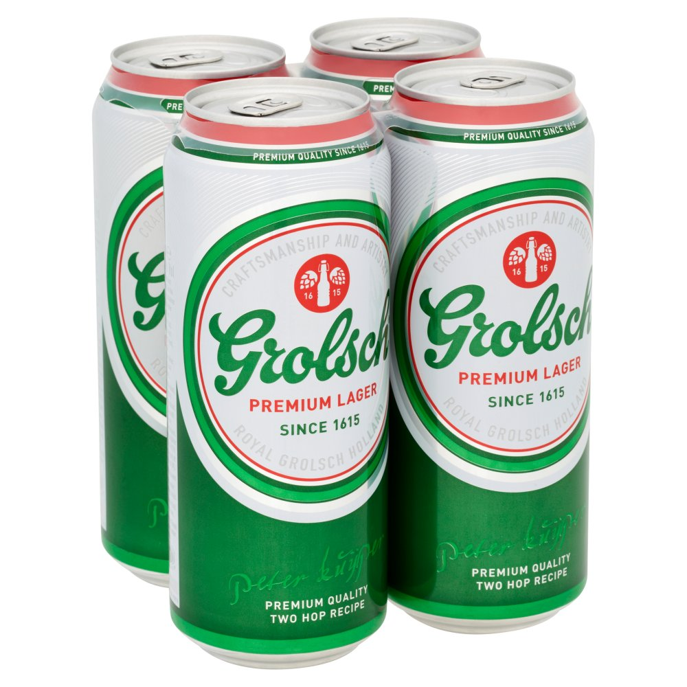 Grolsch Lager Can 500ml