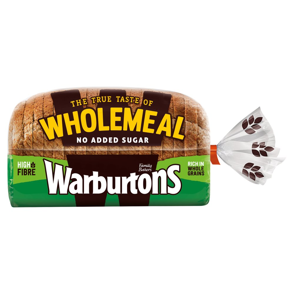 Warburtons Wholemeal Medium 800g