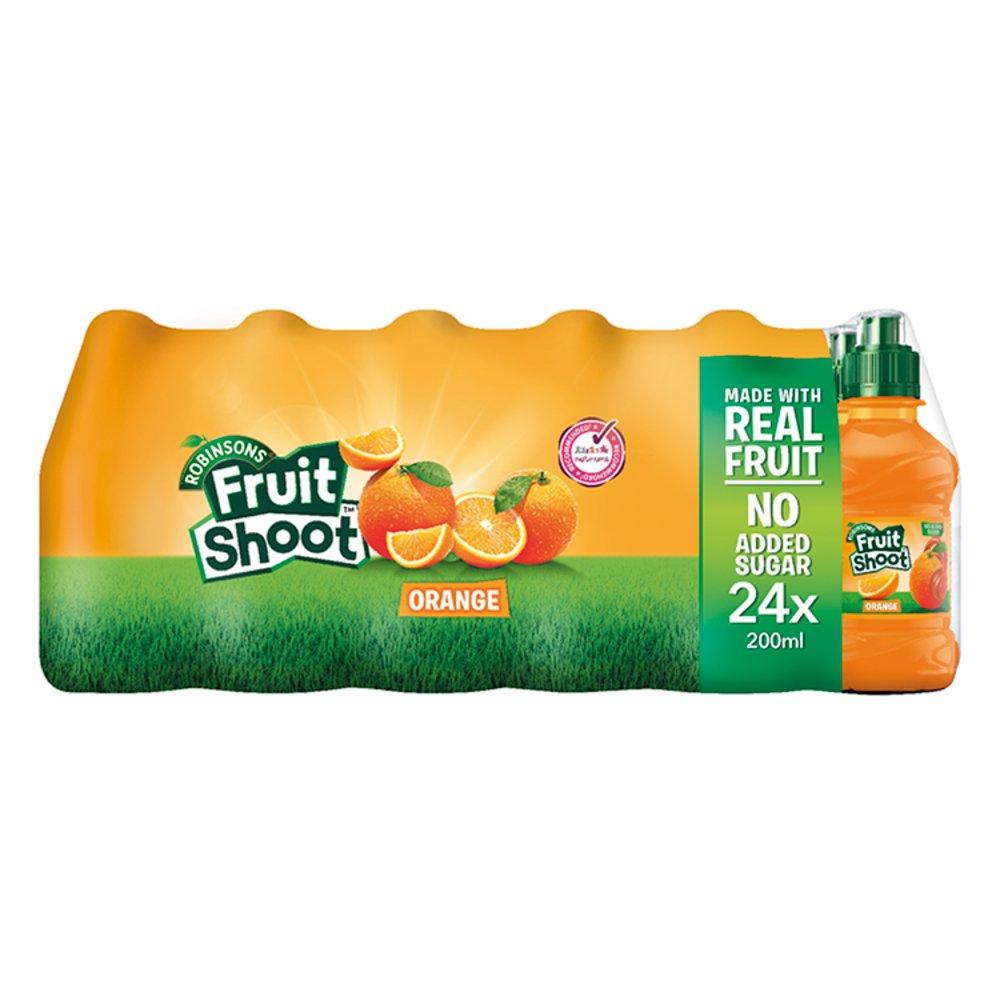 Robinsons Fruit Shoot Orange 24 x 200ml