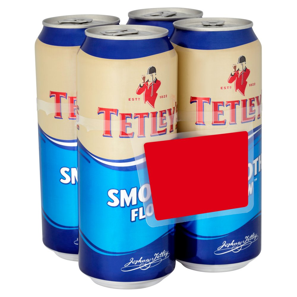 Tetley Smooth Flow PM 4 For £4 Or 2 For £7.50