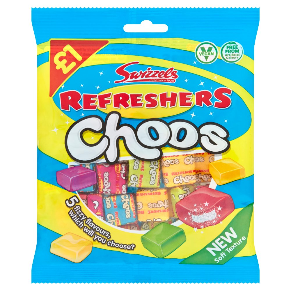 Swizzels Refreshers Choos