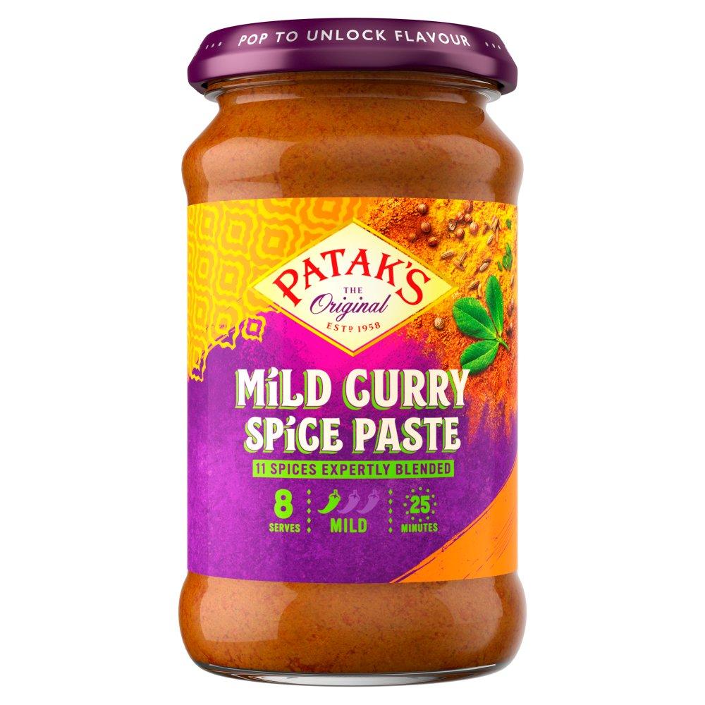 Patak's The Original Mild Curry Spice Paste 283g
