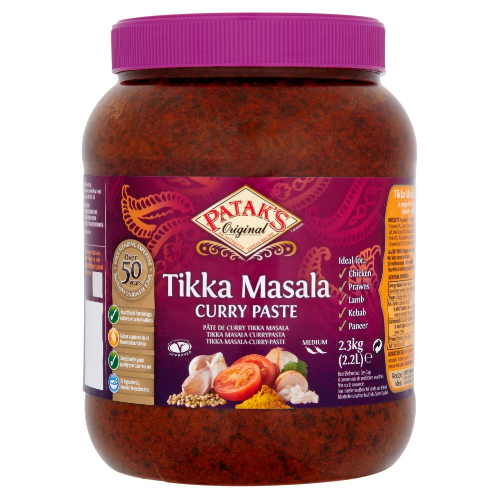 Patak's Original Tikka Masala Curry Paste 2.2L