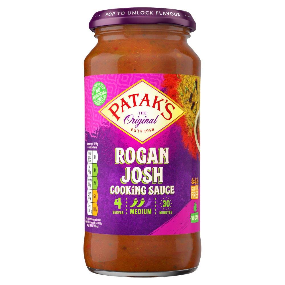 Patak's Rogan Josh Curry Sauce 450g