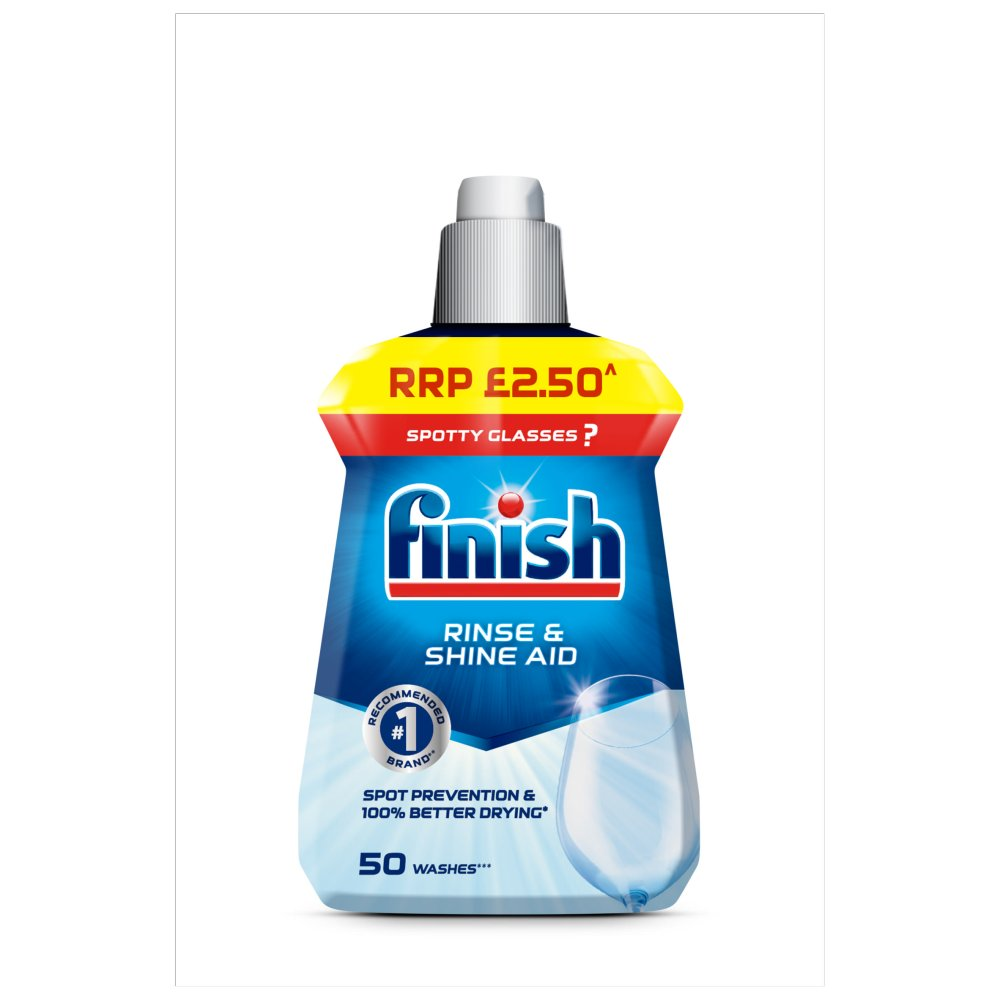 Finish Dishwasher Rinse Aid PMP £2.50