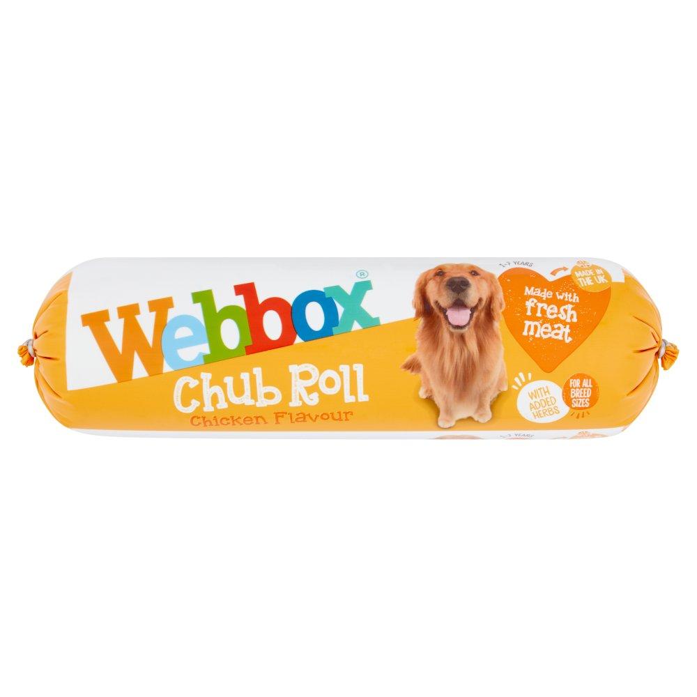 Webbox Chub Roll Chicken Flavour 1-7 Years 720g