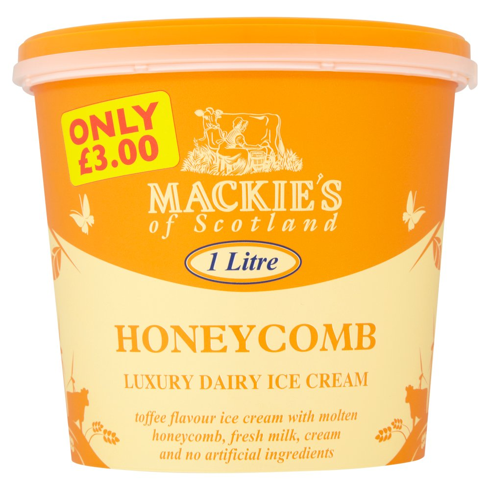 Mackies Honeycomb PM £3