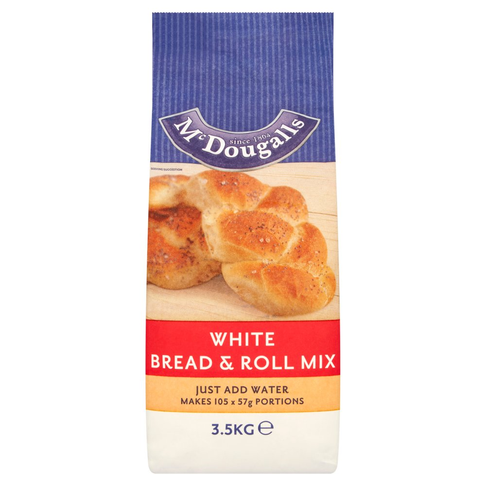 Mcdougalls Bread & Roll Mix White