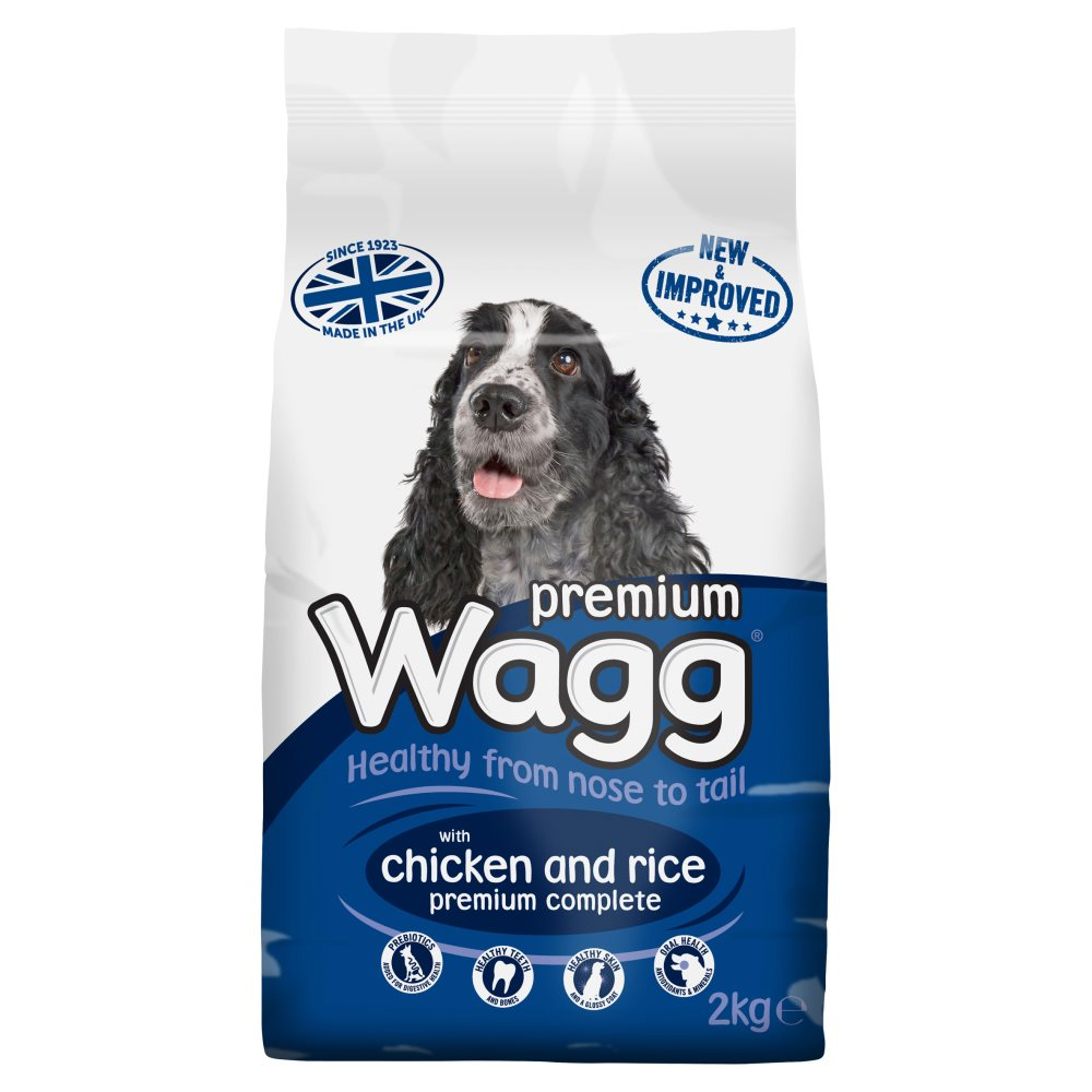 Wagg Complete Premium With Chicken Rice & Veg