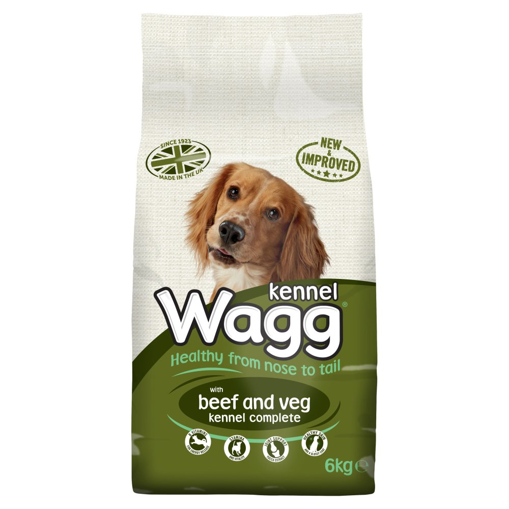 Wagg Complete Kennel Beef
